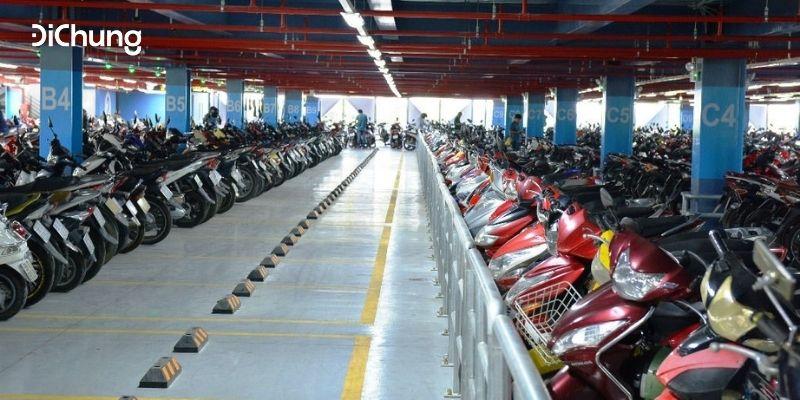 gửi xe máy ở sân bay Tân Sơn Nhất 4