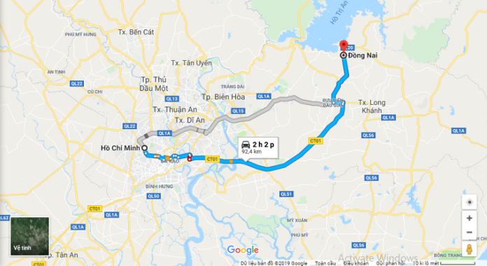 xe Tp HCM đi Đồng Nai