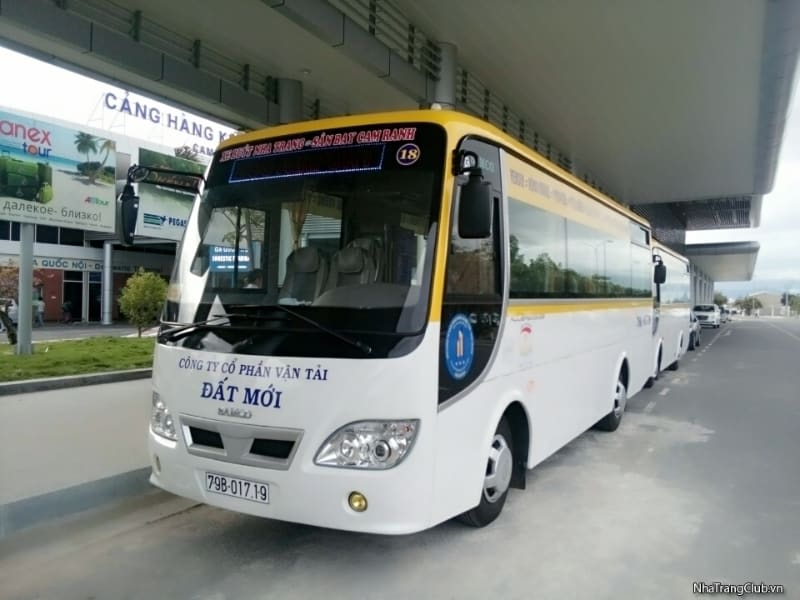 Buses from Cam Ranh airport to Nha Trang
