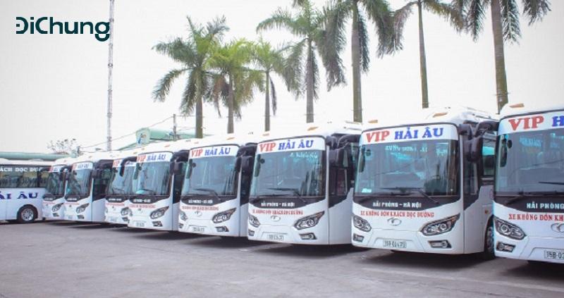 Xe khách từ Hà Nội về Thái Bình