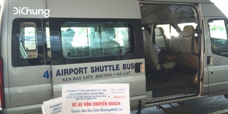 xe sân bay Đà Lạt 1